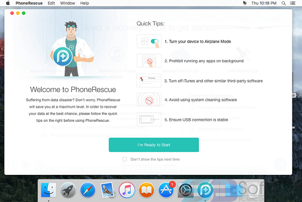 PhoneRescue for iOS 4.0.0 for Mac free download