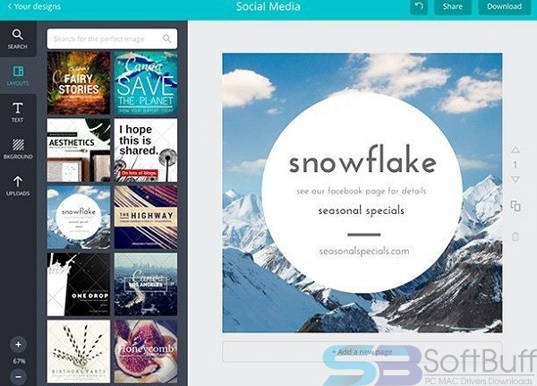 Canva for free download