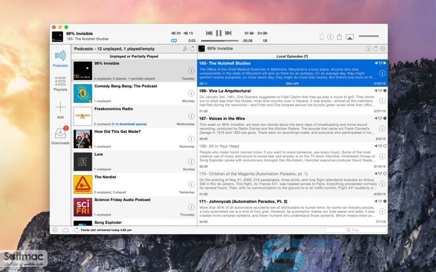 Download Downcast 2.9 for Mac Free