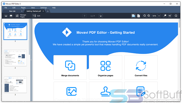 Movavi PDF Editor 3 for Mac Free Download