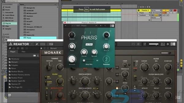 Native Instruments Phasis for Mac free download