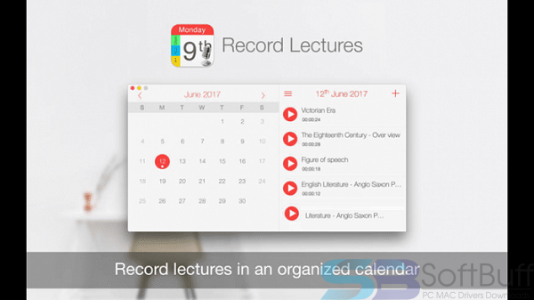 Record Lectures 3.1.4 for Mac Free Download