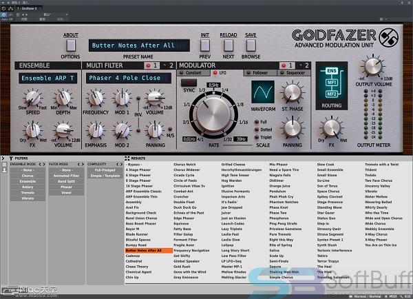D16 Group Godfazer for Mac free download