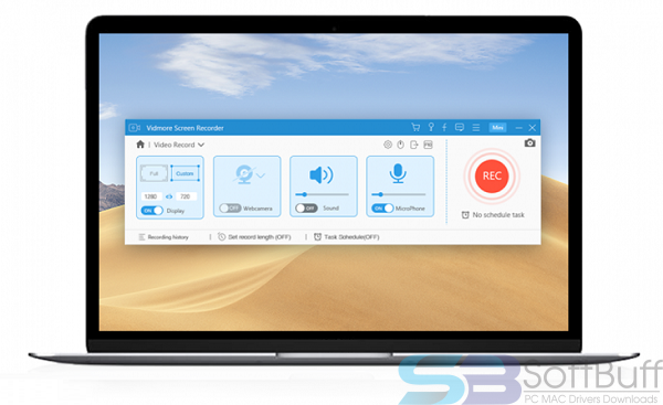 Download Vidmore Screen Recorder for MacOS Free