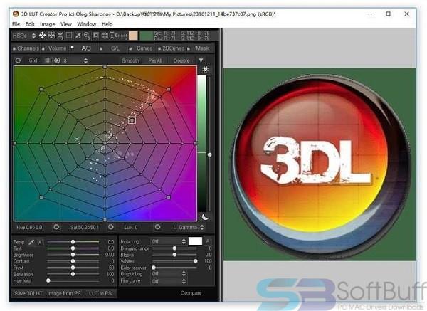 3D LUT Creator 1.52 for Mac free download