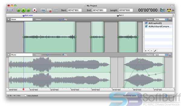 Amadeus Pro 2.6.2 for Mac free download