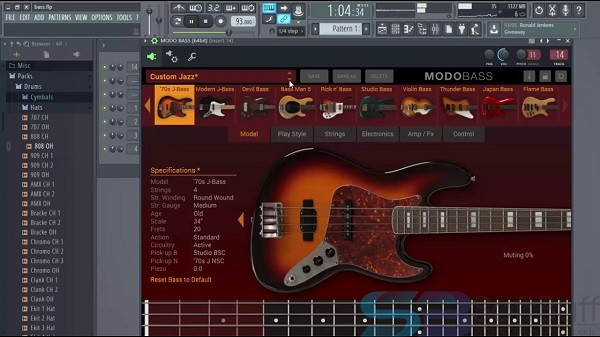 Download IKMultimeda MODO BASS for macOS free