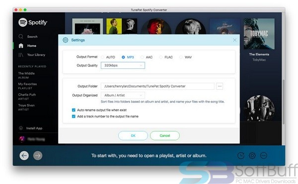Download TunesKit Spotify Converter for Mac free