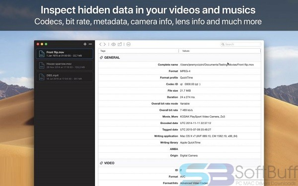 Download VideoScan for macOS free