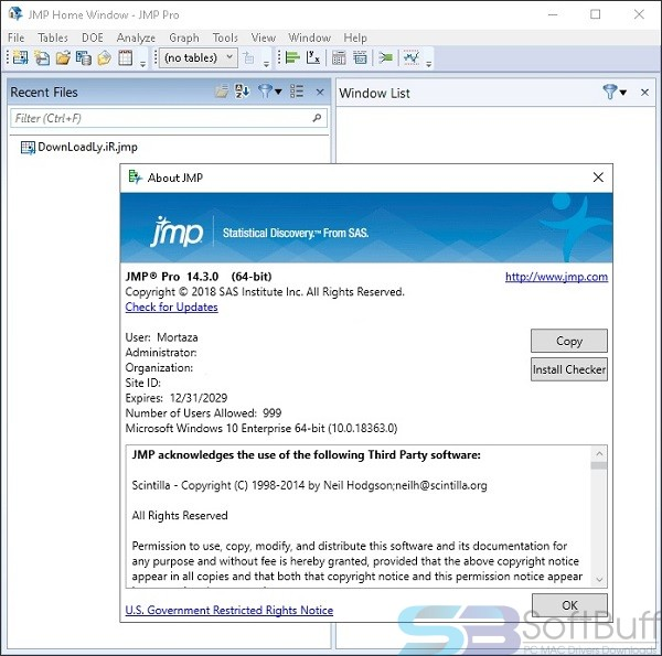 JMP Statistics Pro 14 for mac Free Download