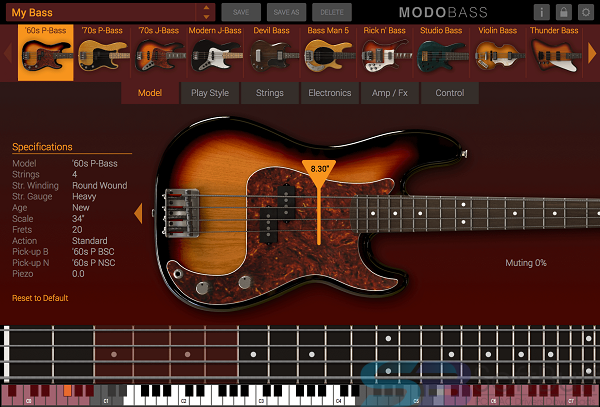 MODO BASS 1.5.1 for Mac free download