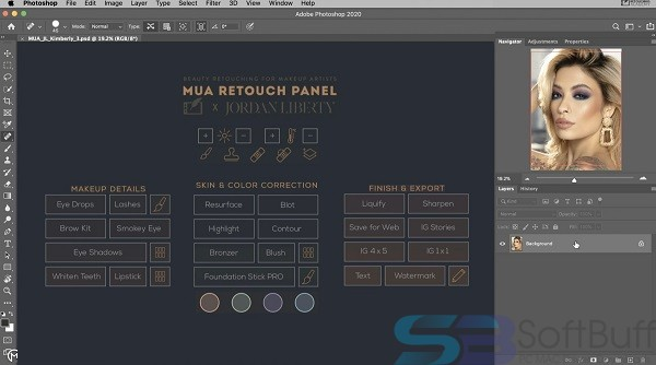 MUA Retouch Panel for mac free download
