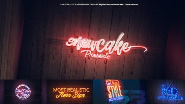 Videohive – Easy Neon Lights Maker for Mac Free Download