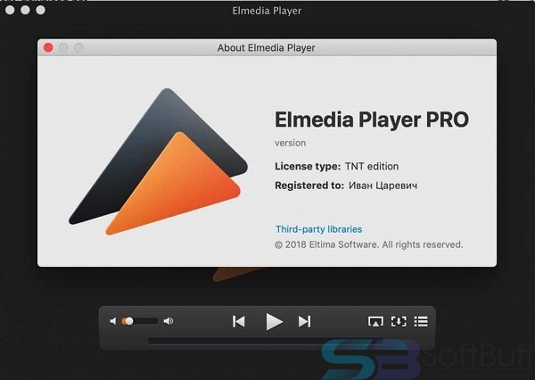 Elmedia Player Pro 7.14 for mac free download