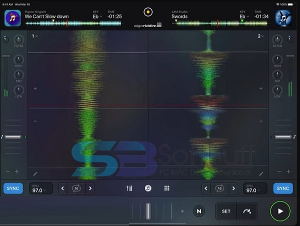 Download djay Pro 3 for MacOS free