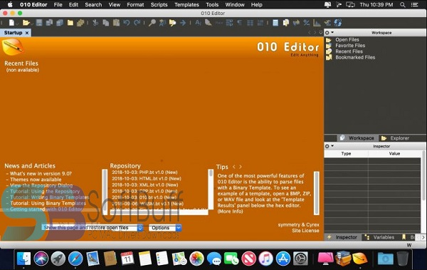 SweetScape 010 Editor 11 for mac free download