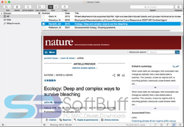Download Bookends 13 for Mac free