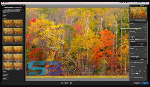 Exposure Software Snap Art 4 for macOS