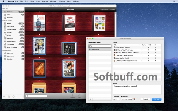 Librarian Pro 6 for Mac free download