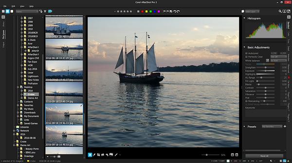 Corel AfterShot Pro 3.7 for Mac free Download