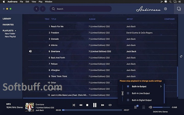 Audirvana for macOS free download