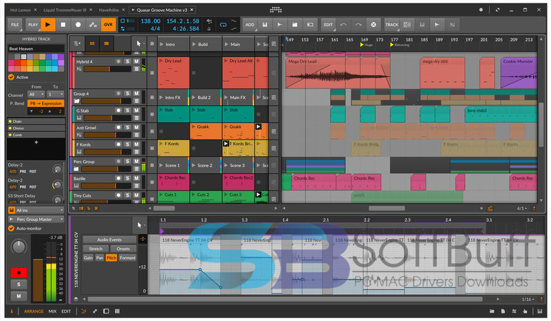 Bitwig Studio 3.3.3 for Mac free download