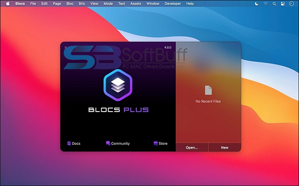 Download Blocs 4 for mac Free