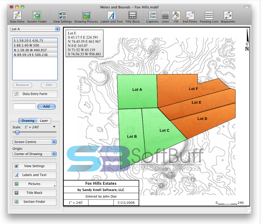 Metes and Bounds for macOS