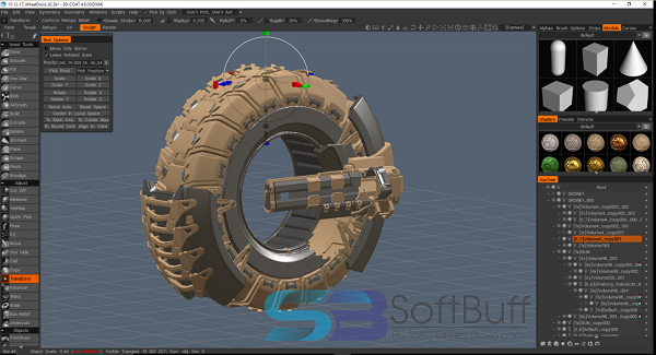 3D Coat 4.9 Free Download