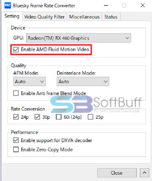Bluesky Frame Rate Converter 3.2.0 free download for Windows 32-bit & 64-bit