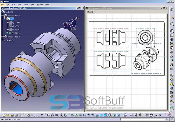 Download DS CATIA P3 V5 Latest Version Free