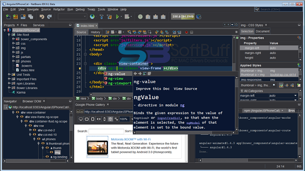Download NetBeans IDE 8.2 free