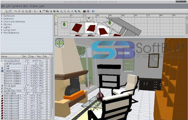 Download Sweet Home 3D for Windows Free