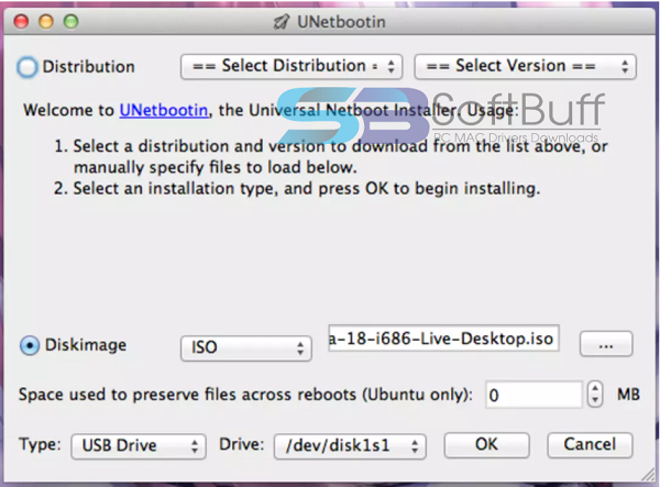 Download UNetbootin USB 2021 for MacOS X free