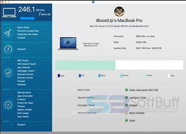 Download iBoostUp Premium 8 for macOS free