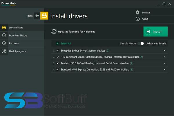 DriverHub for Windows free download