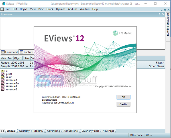 Eviews Enterprise Edition 12.0 free download
