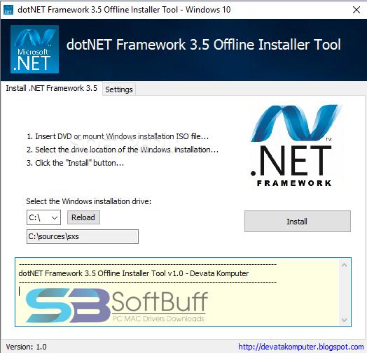 .Net Framework 3.5 Offline free download