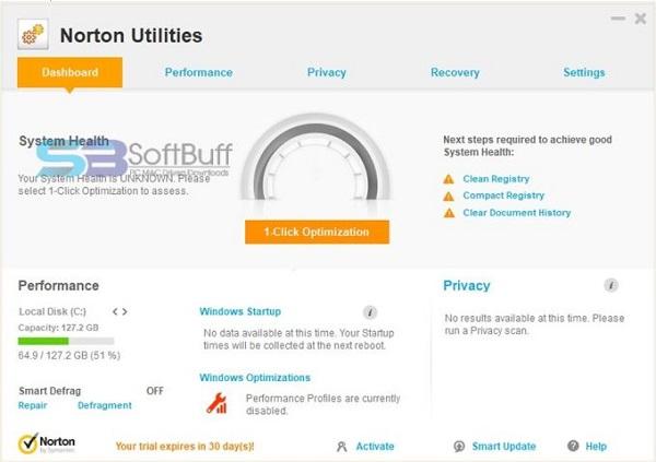 Norton Utilities Premium 17.1