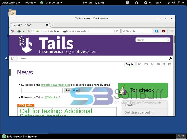 Tails 2021 latest version