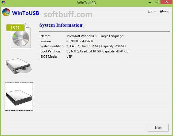 WinToUSB 6 Technician Portable Free Download