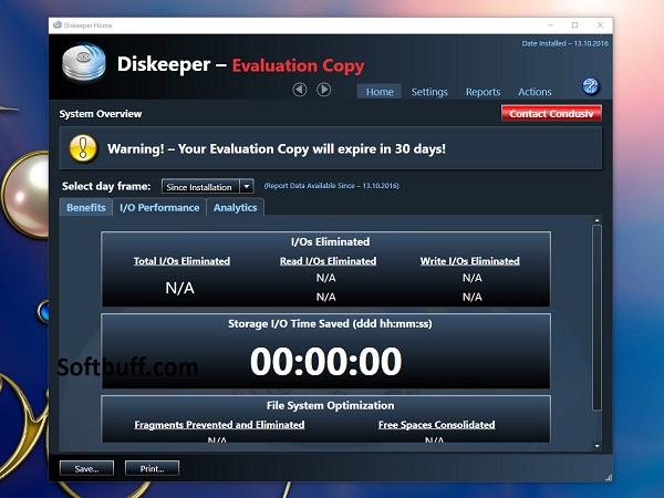 Condusiv Diskeeper 18 Professional free download