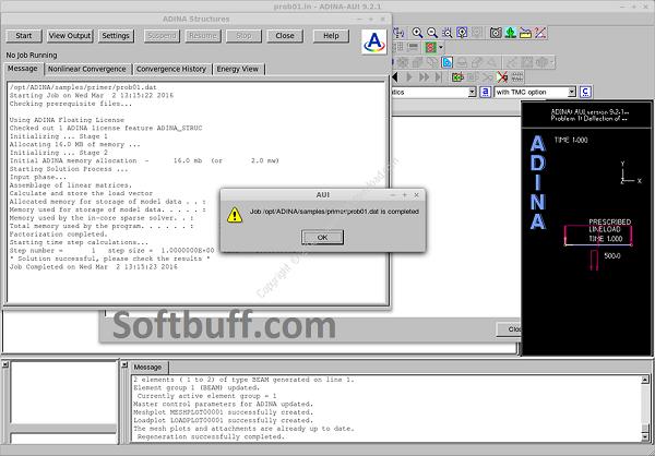 Download ADINA System 9.7.0 Free