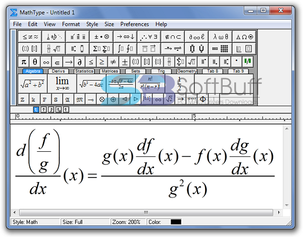 Download MathType Portable 2021 latest version free