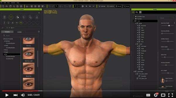 Download Reallusion iClone Character Creator 3 with Resource Pack free