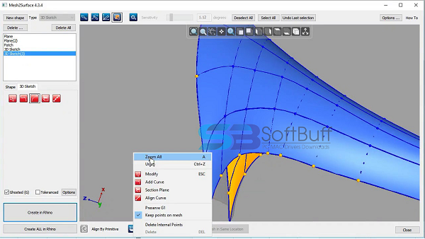 Download RhinoResurf for Rhino 6.7 free