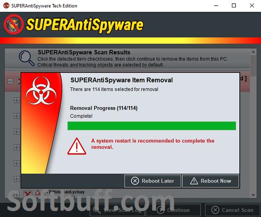 Download SUPERAntiSpyware Professional x 10 Portable Free