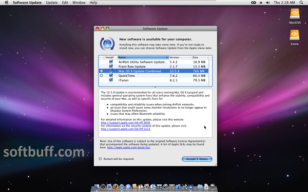 Mac OS X Leopard 10.5 iso free download