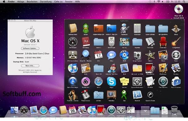 Mac OS X Snow Leopard v10.6 Free Download