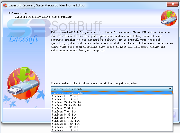 download lazesoft recovery suite usb bootable iso free